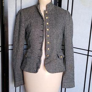 4/$10- Cropped Pea Coat